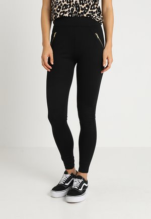 PONTE - Leggingsit - black