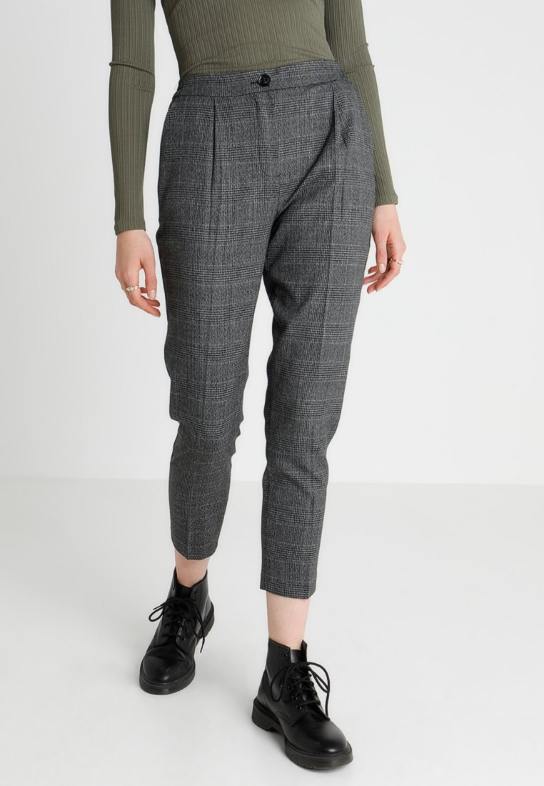 New Look - GEORGIA PULL ON TROUSER - Trousers - grey