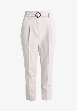 BUCKLE OLIVIA TROUSER - Bukse - grey