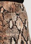 New Look - SNAKE SKIN - Leggings - Hosen - brown