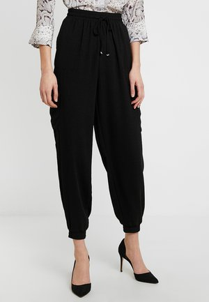 UTILITY CUFFED  - Tracksuit bottoms - black