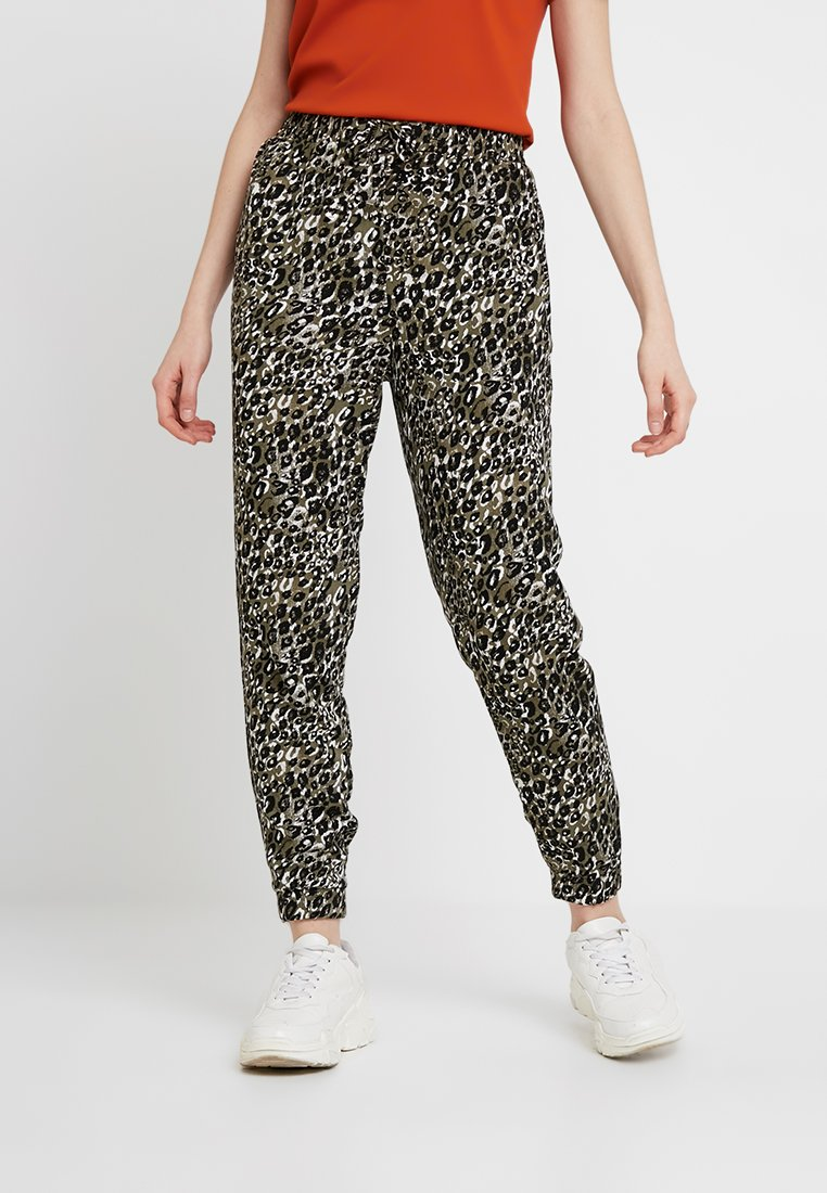 New Look - AMANDA CUFF - Spodnie materiałowe - olive