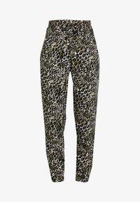 New Look - AMANDA CUFF - Spodnie materiałowe - olive - 3
