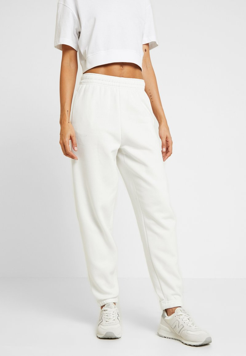 New Look - CUFFED JOGGER - Pantalon de survêtement - cream