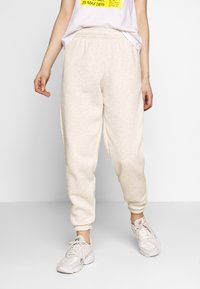 New Look - CUFFED JOGGER - Tracksuit bottoms - oatmeal - 0