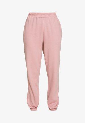 CUFFED JOGGER - Teplákové kalhoty - nude