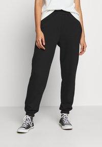 New Look - CUFFED JOGGER - Spodnie treningowe - black - 0