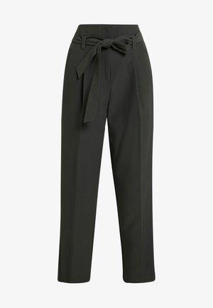 MILLER TIE WAIST TROUSER - Spodnie materiałowe - green