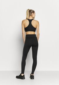 New Look - PRINT PANEL - Leggings - Trousers - black pattern - 2