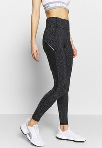 New Look - SPACE DYE LEGGING - Leggings - Trousers - mid grey - 0