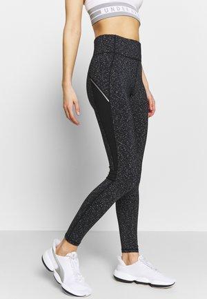 SPACE DYE LEGGING - Leggings - Trousers - mid grey