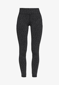 New Look - SPACE DYE LEGGING - Leggings - Trousers - mid grey