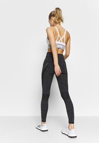 New Look - SPACE DYE LEGGING - Leggings - Trousers - mid grey - 2