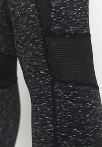 New Look - SPACE DYE LEGGING - Leggings - Trousers - mid grey - 5