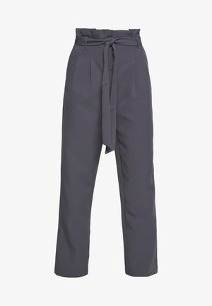 MILLER PAPERBAG TROUSER - Chinos - dark grey