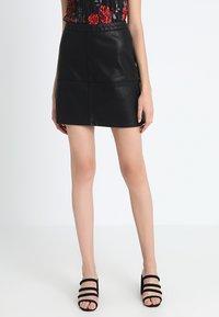 New Look - MINI - A-snit nederdel/ A-formede nederdele - black - 0
