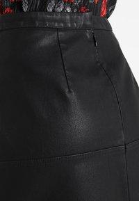 New Look - MINI - A-snit nederdel/ A-formede nederdele - black - 3