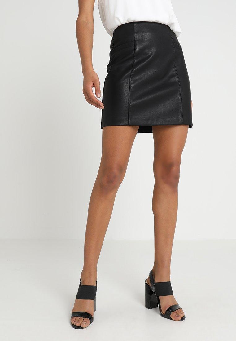 New Look - SKIRT - Minikjol - black