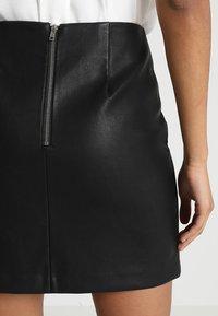 New Look - SKIRT - Minikjol - black - 3