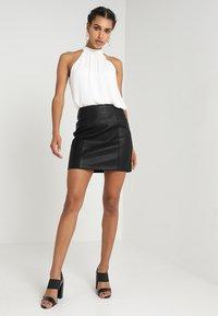New Look - SKIRT - Minikjol - black - 1