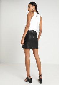 New Look - SKIRT - Minikjol - black - 2