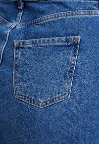 New Look - MOM SKIRT SKITTLES - Spódnica jeansowa - mid blue - 5