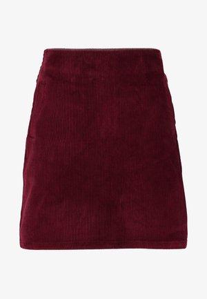 WELT SKIRT - Jupe crayon - burgundy