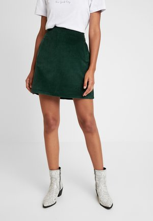 WELT SKIRT - Kokerrok - dark green