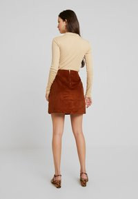 New Look - WELT SKIRT - Gonna a tubino - chocolate - 2