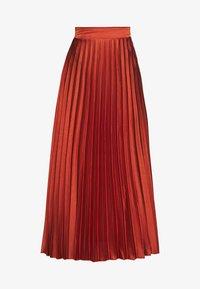 New Look - PLEATEDMIDI - A-line skirt - rust - 3