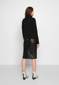 New Look - PENCIL SKIRT - Pencil skirt - black - 2