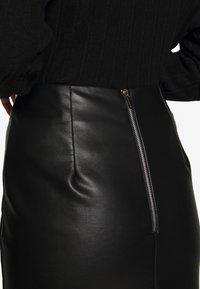 New Look - PENCIL SKIRT - Pencil skirt - black - 4
