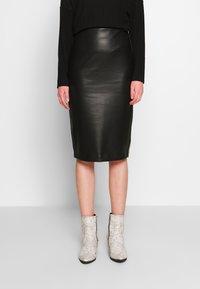 New Look - PENCIL SKIRT - Pencil skirt - black - 0