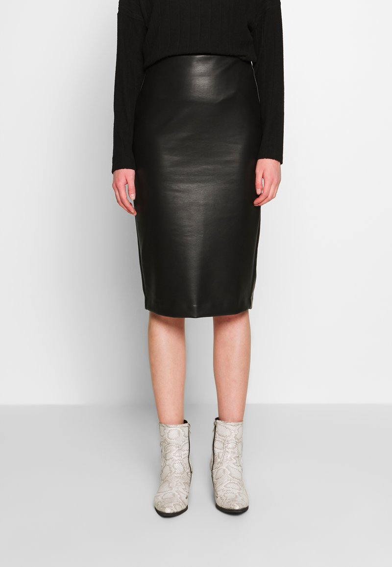 New Look - PENCIL SKIRT - Pencil skirt - black