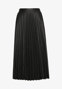 New Look - PLEATED MIDI - Jupe trapèze - black - 3