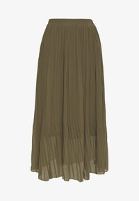 New Look - PLEATED - Jupe trapèze - khaki - 3