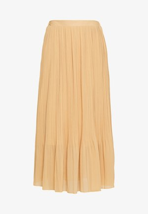 PLEATED - A-snit nederdel/ A-formede nederdele - beige