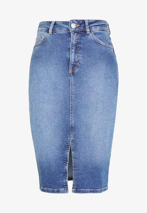 FLORENCE PENCIL SKIRT - Pencil skirt - mid blue