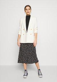 New Look - NELLY SPOT SKIRT - A-line skirt - black - 1