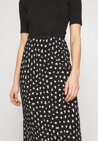 New Look - NELLY SPOT SKIRT - A-line skirt - black - 4