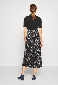 New Look - NELLY SPOT SKIRT - A-line skirt - black - 2