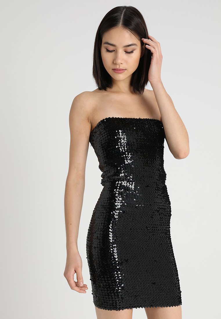 New Look - GO SEQUIN BODYCON - Cocktail dress / Party dress - black