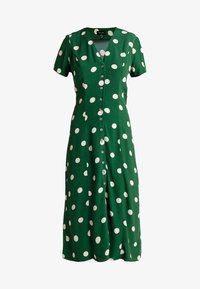 New Look - GEMMA SPOT MIDI DRESS - Maxi dress - green - 4