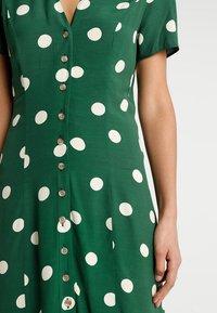 New Look - GEMMA SPOT MIDI DRESS - Maxi dress - green - 5