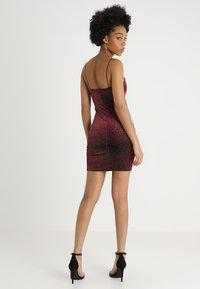 New Look - OOH SLIP DRESS  - Koktejlové šaty/ šaty na párty - burgundy - 2