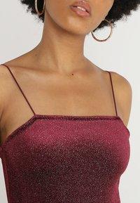 New Look - OOH SLIP DRESS  - Koktejlové šaty/ šaty na párty - burgundy - 3