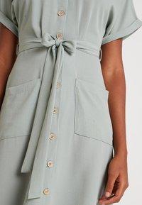 New Look - WOODEN - Shirt dress - teal - 5