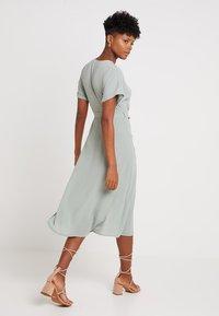 New Look - WOODEN - Shirt dress - teal - 2