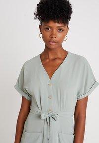 New Look - WOODEN - Shirt dress - teal - 3