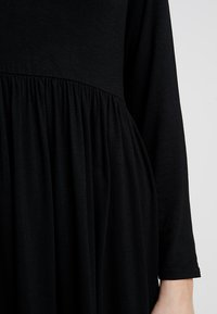 New Look - PLAIN SMOCK - Jersey dress - black - 4